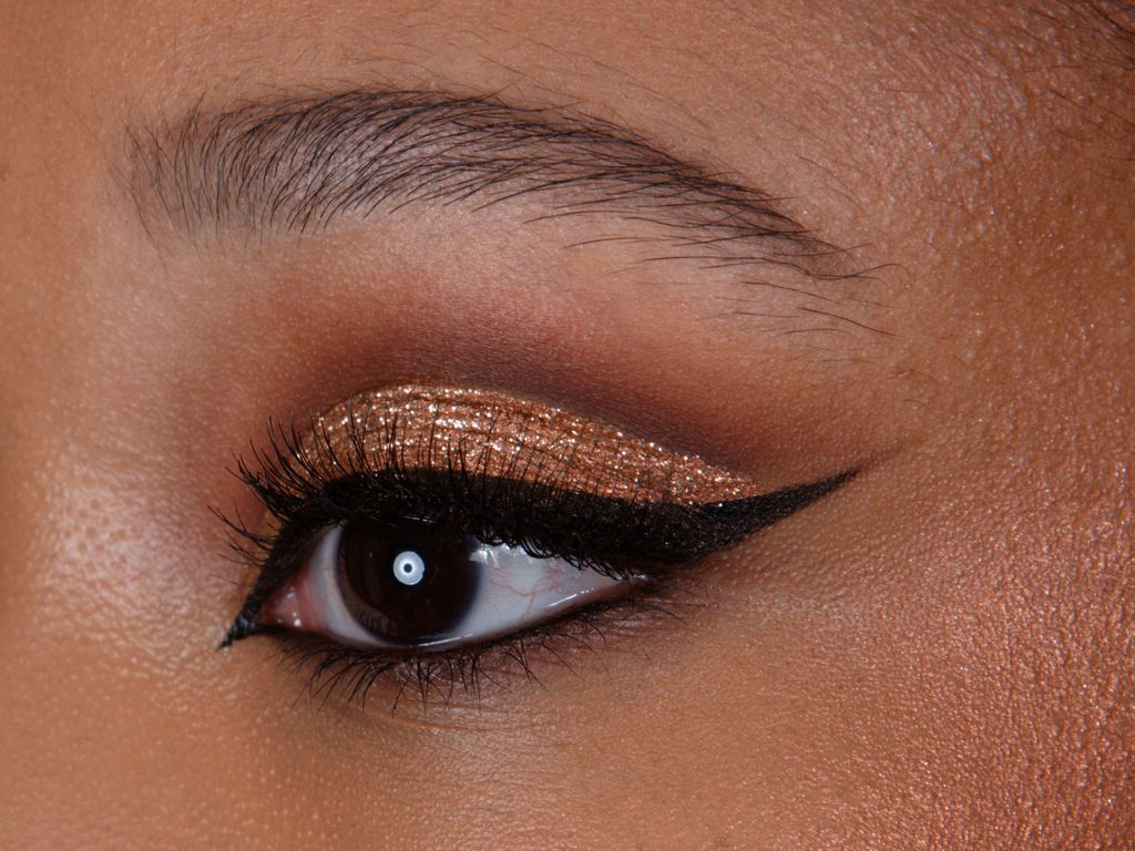 Bronzy smoky eye, Maquillage yeux, Eye makeup, Smoky eye, Eye liner, Maquilleuse professionnelle, Maquilleuse diplômée, France, IdF, Paris, Sucy, Sucy-en-Brie