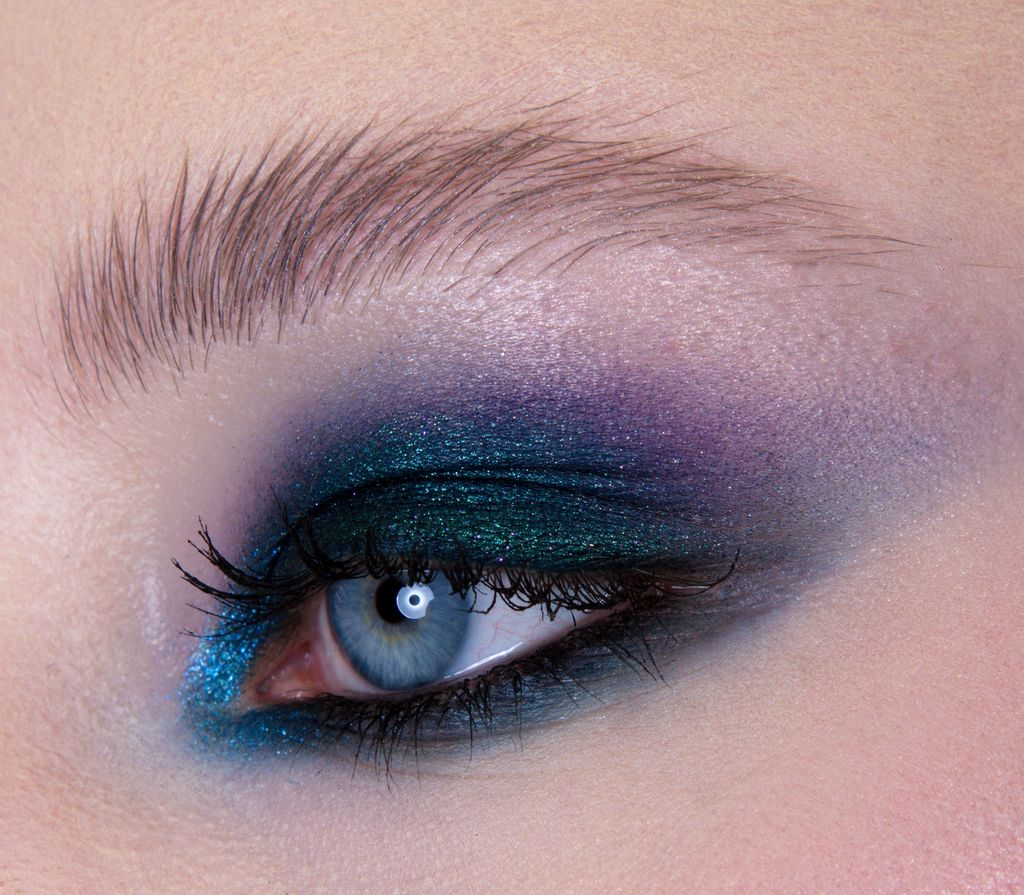 Blue smoky eye, Maquillage yeux, Eye makeup, Smoky eye, Eye liner, Maquilleuse professionnelle, Maquilleuse diplômée, France, IdF, Paris, Sucy, Sucy-en-Brie